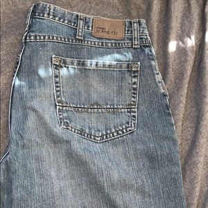 Relaxed boot cut jeans